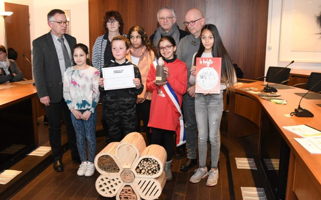 Remise du trophée de l'environnement par l'association Flore 54