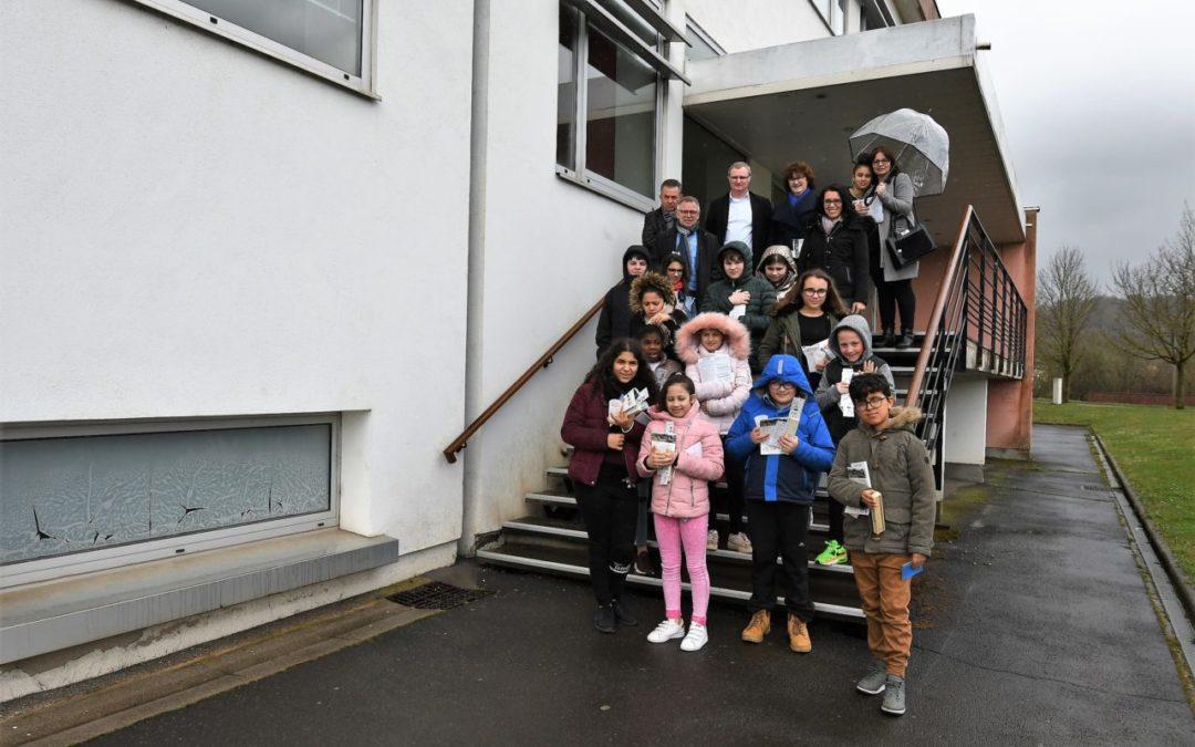 Visite de la CAL (Communauté d'Agglomération de Longwy)